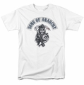 Sons Of Anarchy t-shirt Bloody Sickle mens white