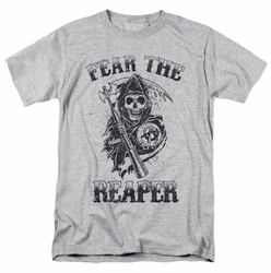 Sons Of Anarchy t-shirt Fear The Reaper mens athletic heather