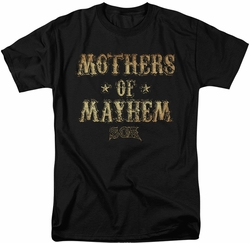 Sons of Anarchy t-shirt Mothers Of Mayhem mens black
