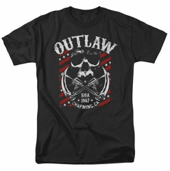 Sons Of Anarchy t-shirt Outlaw mens black