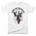 Sons Of Anarchy t-shirt Reapers Ride mens white