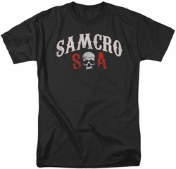 Sons Of Anarchy t-shirt Samcro Forever mens black