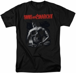 Sons of Anarchy t-shirt Skull Back mens black