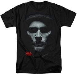 Sons of Anarchy t-shirt Skull Face mens black