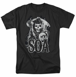 Sons Of Anarchy t-shirt Smoky Reaper mens black