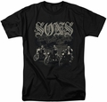 Sons of Anarchy t-shirt Sons Live Free mens black