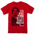 Sons Of Anarchy t-shirt With Tig mens red