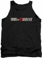 Sons Of Anarchy tank top Beat Up Logo mens black