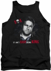 Sons Of Anarchy tank top Being King mens black