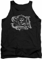 Sons Of Anarchy tank top Charming Ca mens black