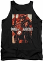 Sons of Anarchy tank top Code Red adult black