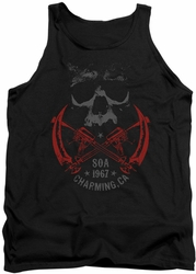 Sons Of Anarchy tank top Cross Guns mens black