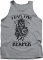 Sons Of Anarchy tank top Fear The Reaper mens athletic heather