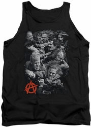 Sons Of Anarchy tank top Group Fight mens black