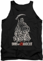 Sons of Anarchy tank top Pile Of Skulls adult black