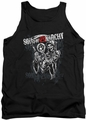 Sons Of Anarchy tank top Reaper Logo mens black