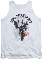 Sons Of Anarchy tank top Reapers Ride mens white
