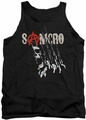 Sons of Anarchy tank top Rip Through adult black