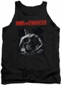 Sons of Anarchy tank top Skull Back adult black