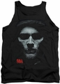 Sons of Anarchy tank top Skull Face adult black