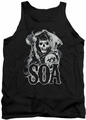Sons Of Anarchy tank top Smoky Reaper mens black