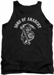 Sons Of Anarchy tank top Soa Reaper mens black