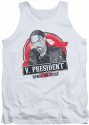 Sons Of Anarchy tank top Vice President mens white
