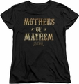 Sons of Anarchy womens t-shirt Mothers Of Mayhem black