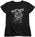 Sons of Anarchy womens t-shirt Reaper Logo black