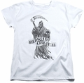 Sons of Anarchy womens t-shirt Redwood Original white