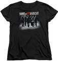 Sons of Anarchy womens t-shirt Rolling Deep black