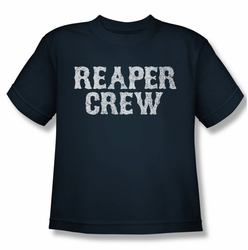 Sons Of Anarchy youth teen t-shirt Reaper Crew navy