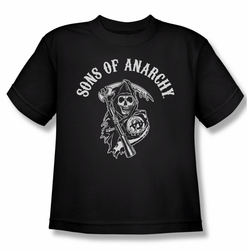 Sons Of Anarchy youth teen t-shirt Soa Reaper black