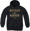 Sons of Anarchy youth teen hoodie Mothers Of Mayhem black