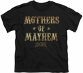 Sons of Anarchy youth teen t-shirt Mothers Of Mayhem black