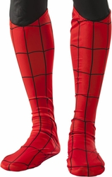 Spider-Man adult boot tops - cosutme accessory