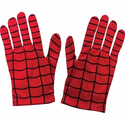 Spider-Man adult gloves - costume accessory