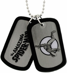 Spider-Man Character double sided Dog Tag