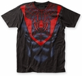 Spider-Man Morales Suit big print subway tee black mens pre-order