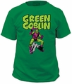 Spider Man t-shirt Green Goblin Trad Fit 18/1 mens kelly green pre-order