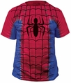 Spider-Man Tie-Dye Big Print Subway t-shirt