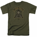 Suicide Squad t-shirt Belle Reve mens Military Green