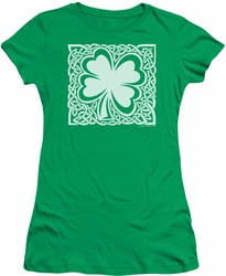 Ireland juniors sheer t-shirt Celtic Clover kelly green