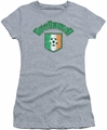 Ireland juniors sheer t-shirt Ireland With Soccer Flag athletic heather