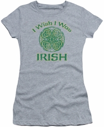 Ireland juniors sheer t-shirt Irish Wish athletic heather