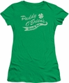 Ireland juniors sheer t-shirt Paddy O'Briens Irish Pub kelly green