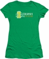 Ireland juniors sheer t-shirt So Irish kelly green