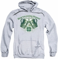 Ireland pull-over hoodie Green Beer adult athletic heather