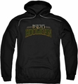 Ireland pull-over hoodie Hooligan adult black