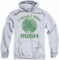 Ireland pull-over hoodie Irish Wish adult athletic heather